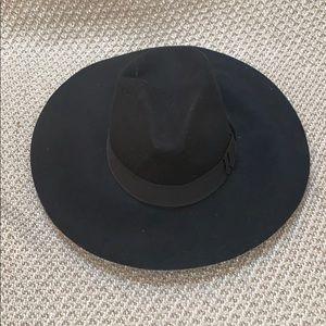 bebe Black Felt Hat
